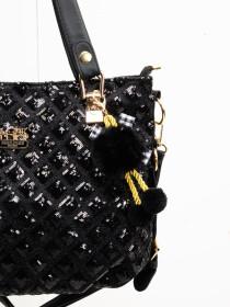 Stylish Black Pattern Ladies Bags