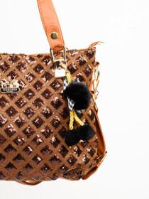Stylish Brown Pattern Ladies Bags