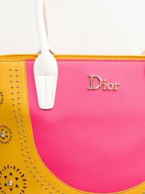 Stylish Yellow Pattern Ladies Bags