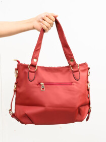 Stylish Red Pattern Ladies Bags