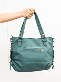 Stylish Sea Green Pattern Ladies Bags
