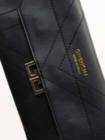 Women Black Small Wallet Clutch Cellphone Purse