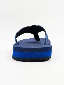 Navy Blue Men Designed Flip-Flop