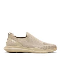 Men Beige Sports Lifestyle Shoes