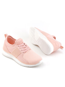 Women Pink/Off White Lifestyle Sports Shoes