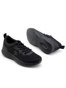Women Black  Lifestyle Sports Shoes