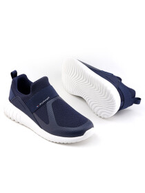 Men Navy/Off White Sports Lifestyle Shoes