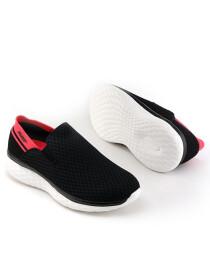 Women Black/Water melon Lifestyle Sports Shoes