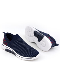 Men Navy Blue/Dark RedSports Lifestyle Shoes