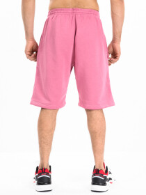 Men's Pink Workout Gym Terry Shorts