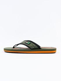 Olive & Orange  Kito Flip Flop for Men