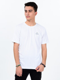 Men's White Custom Fit Crew Neck T-Shirt