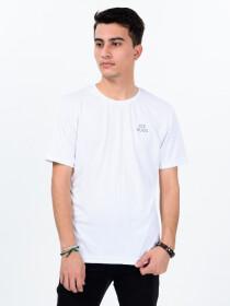 Men's White Custom Fit Crew Neck T-Shirt