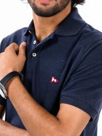 Navy Blue Men's Polo Shirt