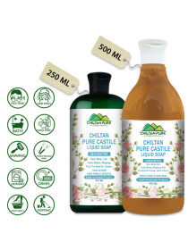 Pure Castile Liquid Soap [Unscented]