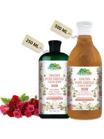 Pure Castile Liquid Soap Rose