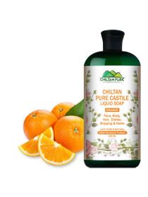 Pure Castile Liquid Soap [Orange]
