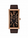 Heritage Banana Century Edition gents watch brown dial with Brown leather strap