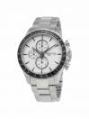 V8 Automatic Chronograph watch silver dial with grey bracelet