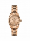 PR 100 Lady Small watch cream colour dial with rose gold colour bracelet
