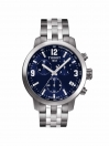 PRC 200 Chronograph gents watch blue dial with grey bracelet