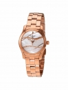 T-Wave ladies watch white mother of pearl dial with rose gold bracelet