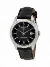 Ballade Powermatic 80 COSC Men's watch black dial with black leather strap