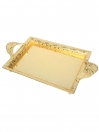 Decoration Golden Tray Fancy