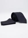Men's Geometric Dot Tie