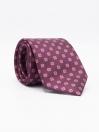 Men's Square- & Medallion-pattern Jacquard Necktie