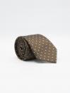 Enterprise Dot Brown Men's Tie