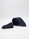 Millennium Falcon Navy Dot Mens Tie