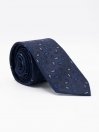 Jacquard Silk Blue  Mens Ties