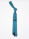 Plain Turquoise Classic Mens Silk Tie |