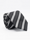 Mixed Media Stripe Tie