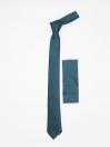 Plain Slim Microfibre polyester Tie