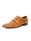 DOUBLE MONKSTRAP WITH MEDALLION