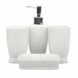 Ceramic Bathroom Set White