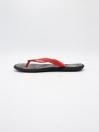 MEN BLACK & RED FLIPS-FLOPS