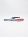 MEN GREY-BLUE & RED FLIP-FLOPS