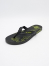 MEN BLACK & GREEN FLIP-FLOPS