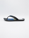 MEN BLACK-WHITE & BLUE FLIP-FLOPS