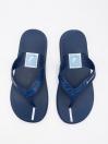 MEN BLUE & WHITE FLIP-FLOPS
