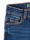 Blue Medium Wash Stretch Slim Fit Jeans