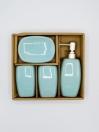 Bathroom Set Sky Color 4Pcs Set