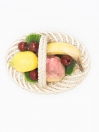 Vintage Bassano Woven Fruit Basket