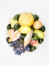 Vintage Bassano Woven Fruit bowl