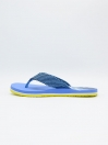 Custom Blue and Yellow Flip flop