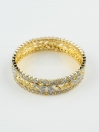 Gold Plated Adrain Bangles