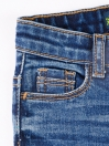 Blue Medium Washed Stretch Slim Fit Jeans